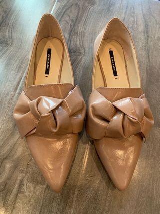 Zara flats - never worn 6.5, 37