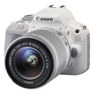 Canon 100D White KIT Box set 18-55MM