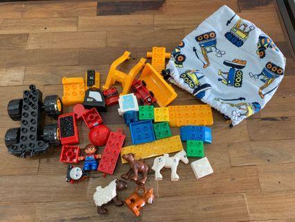 🚚 Duplo, Lego, Mega Blocks