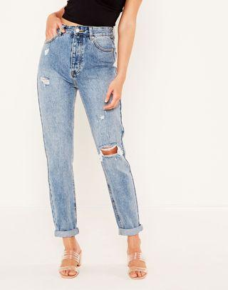 Glassons ripped mom Jean size 12