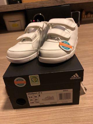 Adidas 返學白波鞋