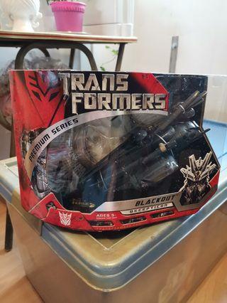 Transformers movie Premium series Blackout scorponok MISB
