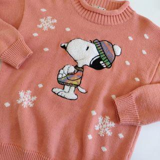 Vintage Snoopy Sweater