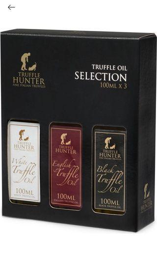 TRUFFLEHUNTER Truffle oil selection 3x100ml