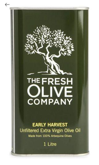 THE FRESH OLIVE COMPANY early harvest olive oil 1l