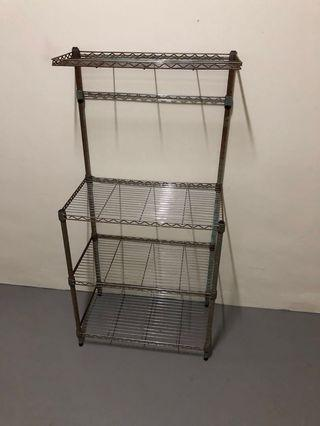 Metal Rack - very solid but not for fussy buyer