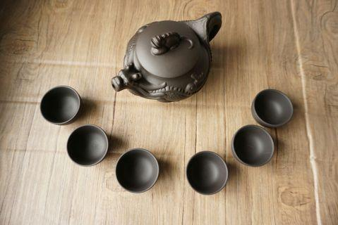 紫砂茶壺套裝
