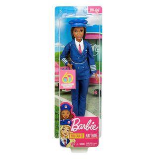 Barbie Careers 60th Anniversary Pilot Doll