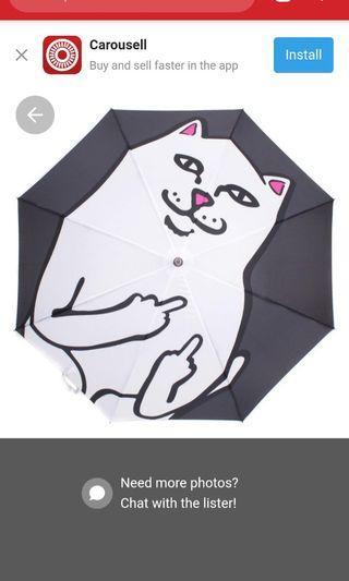 ripndip umbrella 100% new