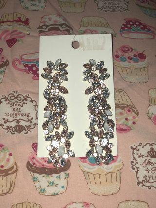 Anting H&M flower earrings