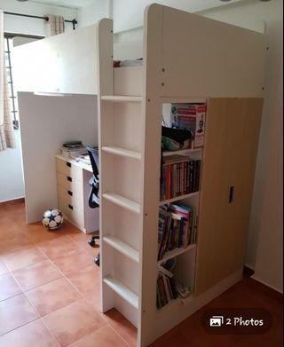 Loft bed (STUVA) from IKEA with FREE mattress
