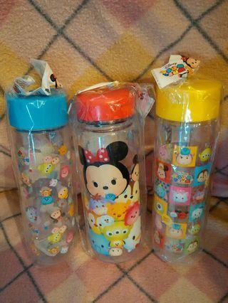 (💲100/3件)日版 Disney Mickey mouse 迪士尼米奇老鼠 Tsum Tsum 冷水樽水瓶水壼