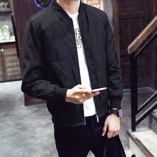 Mens Bomber Jacket Thin Men Baseball Jacket Coat Overcoat