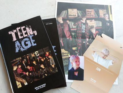 [ WTS ] SEVENTEEN TEEN, AGE RS VER.