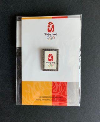 🇨🇳🏅100%全新正貨 中國北京 China Beijing 2008 奧運會 Olympic Games 紀念襟章 Souvenir Pin
