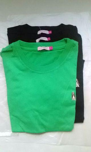 Round Neck Short Sleeve T Shirt (refer size below)