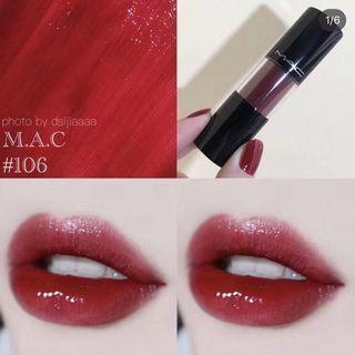 MAC棒棒糖脣釉106#