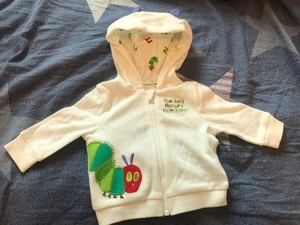 (全新包郵) The very hungry caterpillar 🐛 bb衫 連身衣  newborn baby clothes 外套