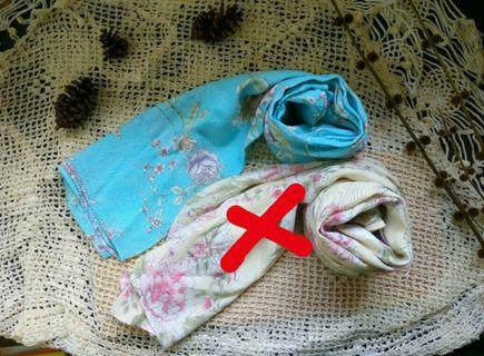 Kerudung Bunga / Hijab Bunga
