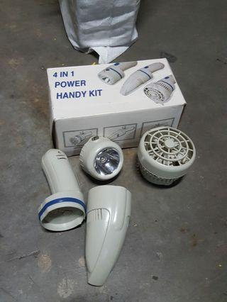 🚚 New set , 4 in 1 set , fan/vacum/touch/compass
