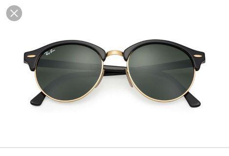 Ray Ban round club master sunglasses