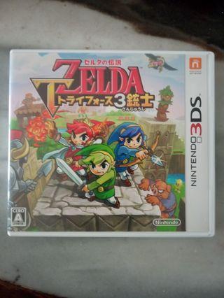 3ds Zelda  3统士