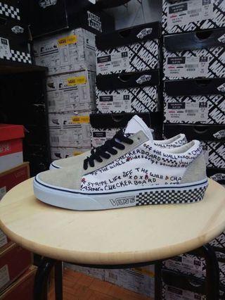 """Sepatu Vans Old Skool DIY """"Black True White"""""""