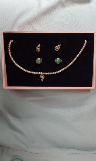 Necklaces and earring