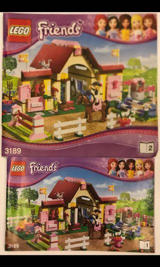Lego Friends model 3189 (used) Built