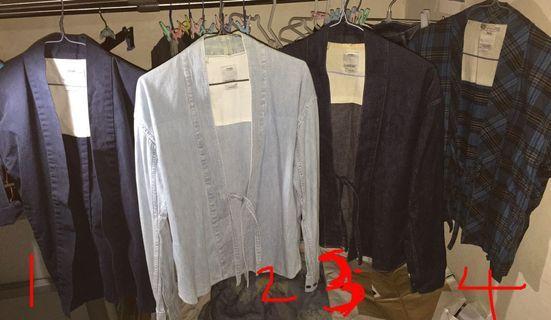 visvim lhamo shirt not noragi kimono 道袍 robe