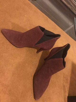 🚚 Boots Maroon