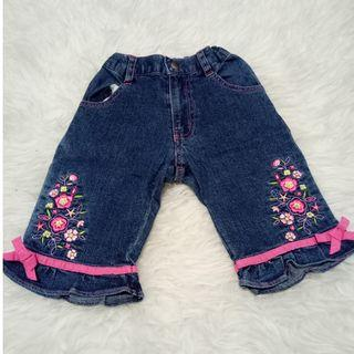 Jeans Lucy Pink Size 104 usia 4-5 th
