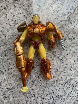 Marvel daredevil legends Ironman legends wolverine batman avengers captain marvel silver select black panther hulk buster
