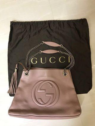 Gucci Soho Bag - Dusty Pink