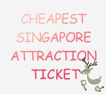 Cheapest Singapore Attraction Tickets