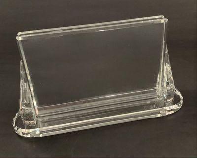 🦁🎞 100%全新 HSBC 滙豐銀行 4R 水晶相架 Crystal Photo Frame