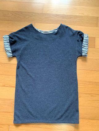 Zara knit dress dark blue
