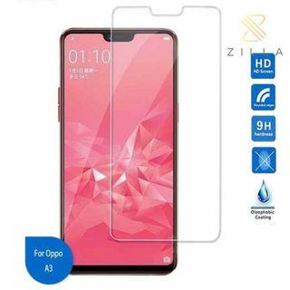 Zilla 2.5D Tempered Glass Curved Edge 9H 0.26mm for Oppo A3 TItanGadget