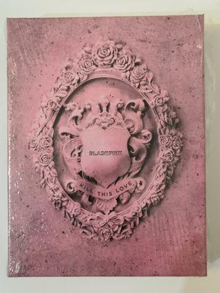 BLACKPINK KILL THIS LOVE (PINK VER) YG SELECT PRE-ORDER BENEFIT