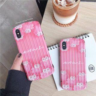 Pink Kaws Elmo Iphone XR / XS Max / X / 8plus / 6S casing