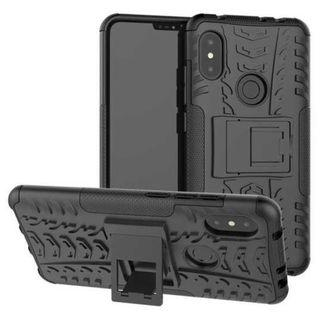 BROEYOUE Armor Hard Case with Kickstand for Xiaomi Mi A2 / 6X TItanGadget