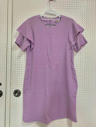 Lilac color dress