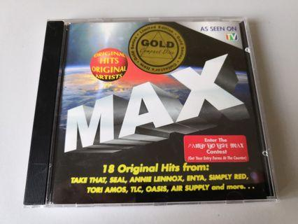 MAX GOLD Series Limited Edition CD