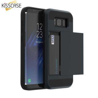 Kisscase Hard Case Credit Card Slot for Samsung Galaxy Note 9 - 64160 TItanGadget