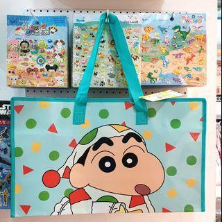 韓國直送蠟筆小新野餐袋