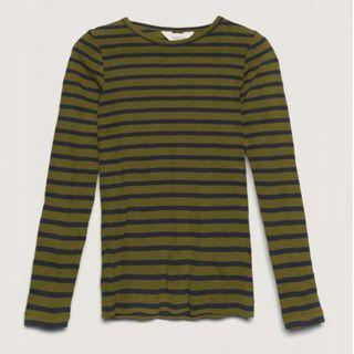 Gorman Stripe Cotton Rib Top