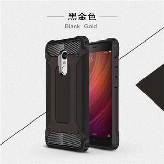 AEFUNDA Hybrid Iron Armor PC Hard Case for Xiaomi Pocophone F1 TItanGadget