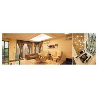 Prestigious Eco-Luxury @Laman Villa Mont Kiara North KL FULLY FURNISHED