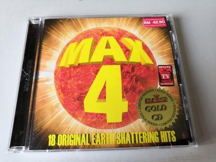 MAX 4 Limited Edition Gold Series GOLD CD