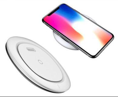 🚚 [$SALE$]Baseus Wireless Charger - BSWC 07 (White)